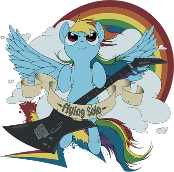 Flying Solo - Tee by Hydro-King
