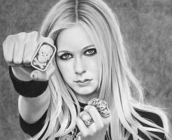 Avril Lavigne by markstewart