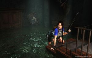Lara Croft 98 by Nicobass