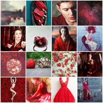 My aesthetic (Red) by ScorpionFlower1