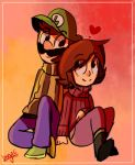 Mary and Luigi Request by mariogamesandenemies