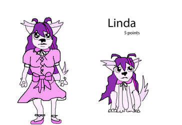 Linda the lolita puppy adoptables -- 5 pts (Open) by SonicLover1523