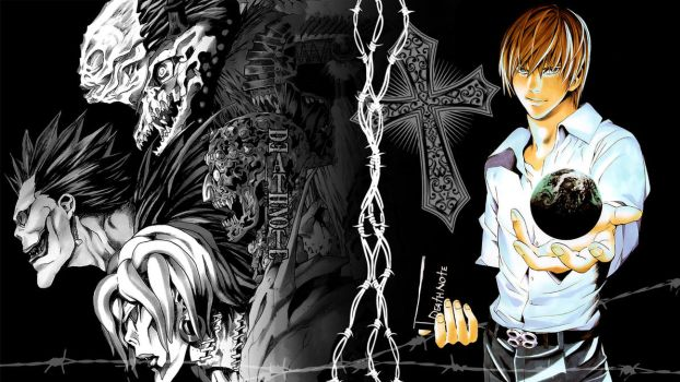 Death Note - ''Light Yagami'' (Wallpaper 02) by Dr-Erich