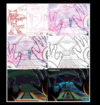 Sonic Adventure 3 process by ThatMFZguy