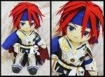 Roy - Fire Emblem 40cm Plushie by renealexa-plushie
