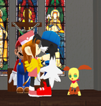 Klonoa And Lolo's Wedding by bragon2004
