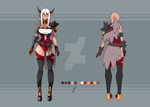 Character Addition and Shading - Outfit 21 by Asgard-Chronicles