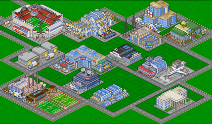 beenmanager Pixelbuildings by shabuegah