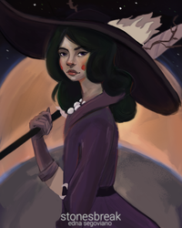 Eclipsa from Star vs the Forces of Evil! by stonesbreaak
