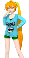 [DT] .:Neru Monsters Inc. Hoodie:. by PiettraMarinetta