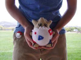 Crochet Togepi Plushie by Taikxo