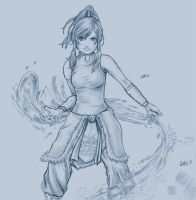 Korra - Incomplete by Dice9633