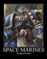 Space Marines by Varezart