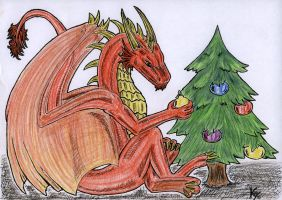 Christmas Exchange by MetalDragoness