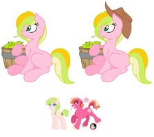 KilalaPanVerse#1 Parents Anthea and Peachy Keen by sexy101v
