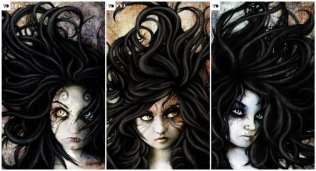 Sisters of Jinn by SquareFrogDesigns