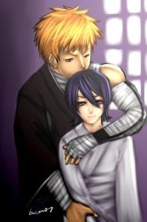 Bleach - Ichigo and Rukia by buuzen