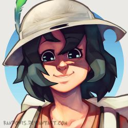 Kaban-chan by RandoWis