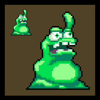 Clay Fighter: The Blob (Sprite) by DangerMD