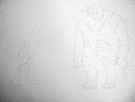 Hero/Villain WIP by socially-confused