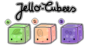 Jello-Cubees Adoptables [CLOSED] by Metterschlingel