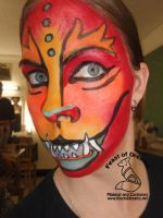 Foo Dog Makeup by theassassinnox