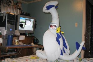 GIANT LUGIA at computer 2 by Eternalskyy
