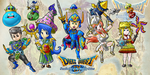 The Johnny Dietz Dragon Quest Party! by Inventorjohnny789