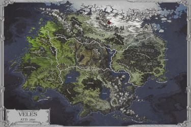 Veles Map by AugustinasRaginskis