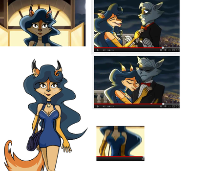 References for 'Carmelita's new look' by Milelope