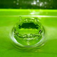 Green Splash by robconquer