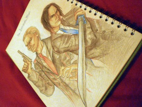 The Immortal Ways - Leo and Kenji by alison90