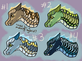 SeaWing Adoptables (OPEN) by sketchytopazz