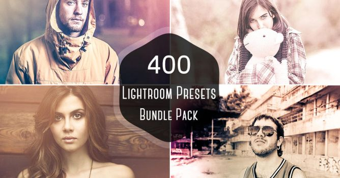 400+ Pro Lightroom Presets Bundle Vol.1 by symufa