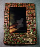 Garden Wall Photo Frame by MandarinMoon