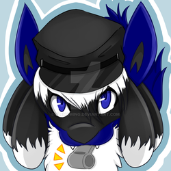 Icon Commission - Midnight 1/2 by elenawing
