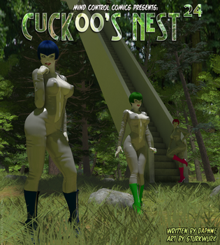 Cuckoo's Nest issue 24 cover by sturkwurk