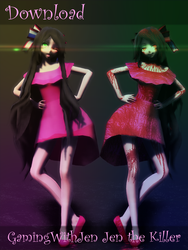 [MMD][Youtuber][DOWNLOAD] GamingWithJen by MissHana-chan