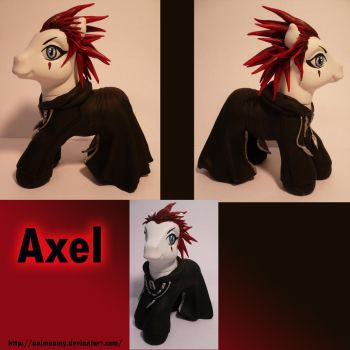 Axel From Kingdom Hearts by AnimeAmy