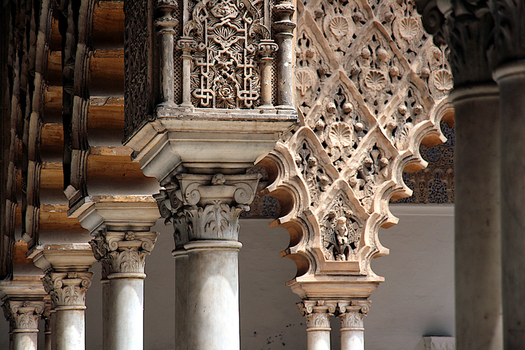 Patterns and Columns by barefootliam