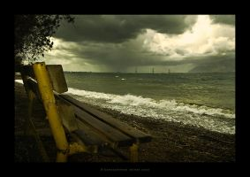 Lonely Bench by vainas