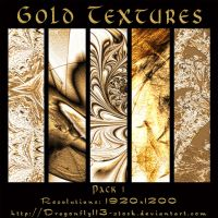 Gold Textures Pack 1 by BFstock