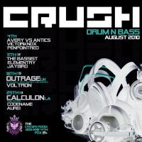 crush flyer august by penpointred