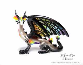 Rainbow Glasswing deluxe by rosepeonie