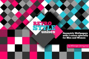 Wallpaper RetroStyle unisex by skingcito