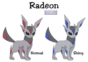 Fake Eeveelution - Radeon