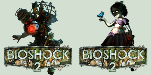 BioShock 2 Sisters icon pack by v00d00m4n