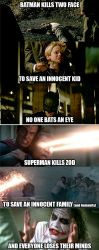 Man Of Steel / Dark Knight Meme by LamboMan7