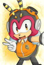 Charmy Bee by KayeilE
