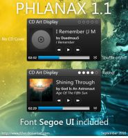 Phlanax 1.1 CD Art Display by Fi3uR
